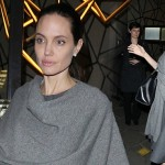 Angelina Jolie dines out in London
